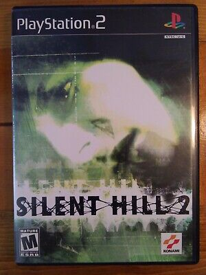 Silent Hill 2 - Sony PlayStation 2 PS2 - Complete CIB - Tested - Black Label