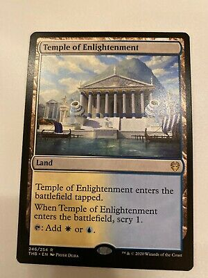 x1 Temple of Enlightenment - MTG Theros Beyond Death (246/254). M/NM