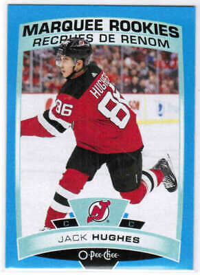 19/20 UD S2 O-PEE-CHEE UPDATE MARQUEE RC BLUE CARDS (611-650) U-Pick From List