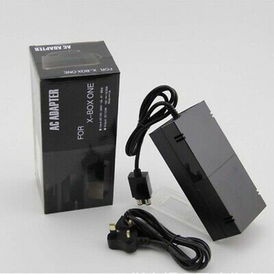 Brick Power Supply For XBOX ONE Console UK Mains Plug Charger Cable Adapter