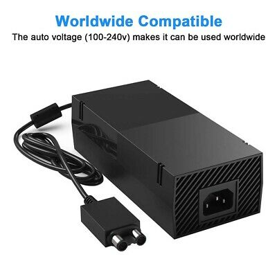Brick Power Supply For X  BOX ONE Console UK Mains Plug Charger Cable Adapter.