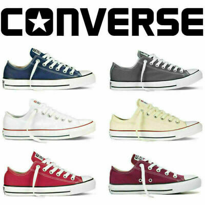 Converse Unisexe Hommes Femmes Tous Star Low Top Chuck Taylor Baskets Chaussures