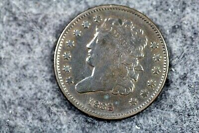 Estate Find 1835 - Classic Half Cent!!!  #J02902