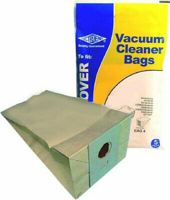 Vacuum Bags to fit Hoover Sensetronic H8 Type 5 Pack by Electruepart