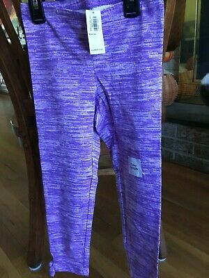 Girls Old Navy Blue Capri Length leggings Size Large (10-12) New with tags