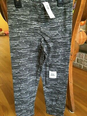 Girls Old Navy Black Capri leggings Size Large 10-12 New with tags
