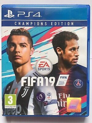 Fifa 19 champions edition ps4 Excellent Condition Free Postage