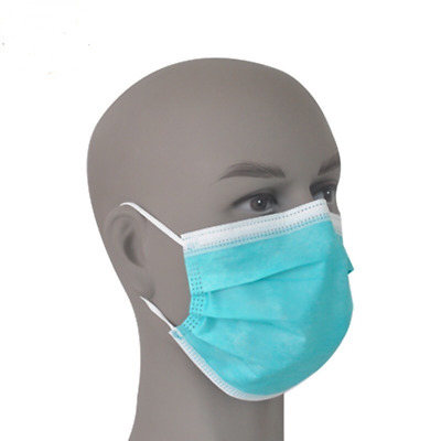 20Pcs 3 Ply Disposable Surgical Face Masks Medical Dental Industrial Dust Proof