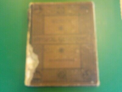 Old Antique 1885 GUYOT'S PHYSICAL GEOGRAPHY Great Atlas and  Charts (AS)