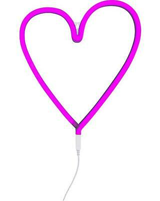 Luce a Neon, LED, Cuore - Rosa