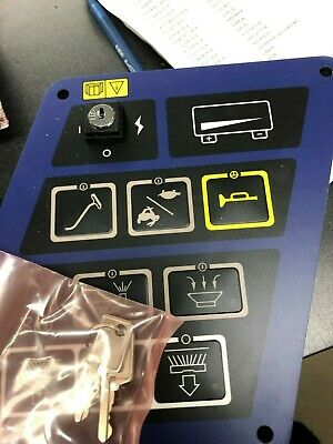 56316109 Control Panel Assembly With Keys