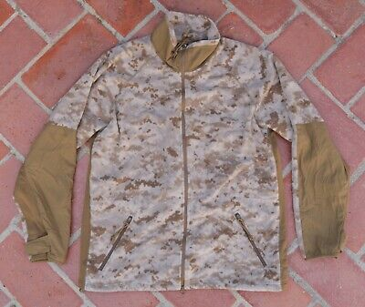 USMC Desert MARPAT Polartec Fleece Jacket • MEDIUM REGULAR • NEW NWOT