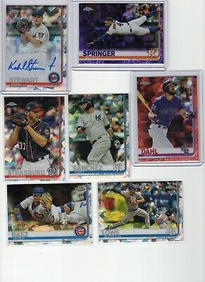 2019 Topps Chrome Sapphire Auto Refractor Pick Your Player Lot Complete Your Set
