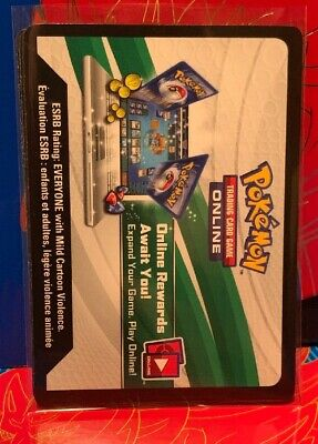 Unused Pokemon Sword And Shield Trading Card game Online Codes TCGO - Pack Of 5