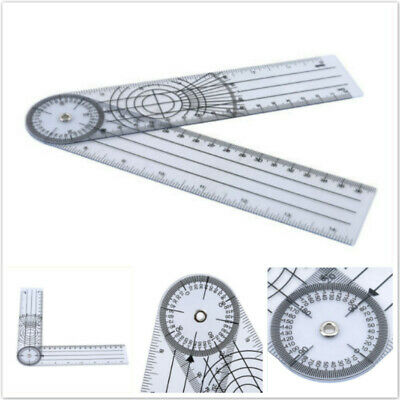 Professional Medical Spinal Ruler 360 Degree Rotation Measure Worker Tool JD