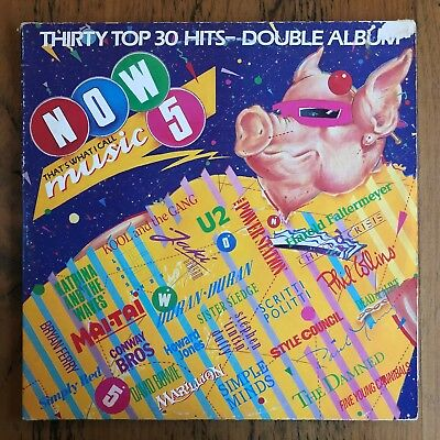 Compilation - Now That's What I Call Music 5 - LP Record Vinyl Album  1985 Rock