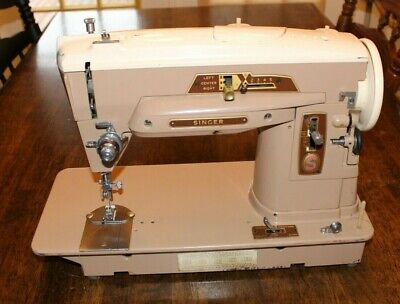 Vintage Singer 403 A Slant-O-Matic Sewing Machine
