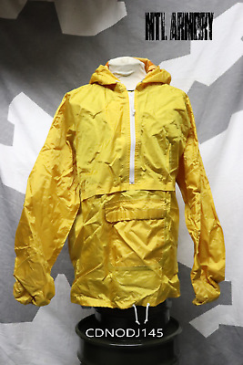 Canadian Forces Yellow Rain Jacket Size XLarge Canada Army