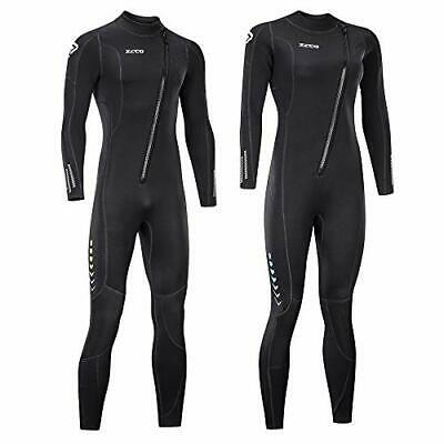 Men/'s 3mm Front Zip Wetsuit 3100 TommyDSports Stretch Series XL