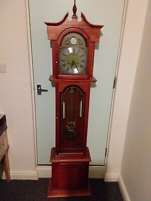 Long Case Grand Mother Clock In Perfect Working Order