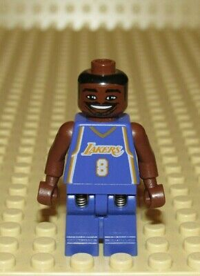 Lego NBA Kobe Bryant #8 Los Angeles Lakers basketball player minifigure 3433
