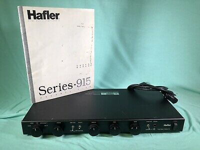 Hafler Pure Class A Series 915 Preamplifier Tested Works Great Pre Amp Stereo