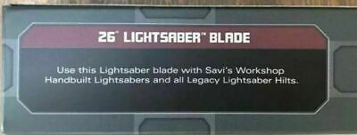 "26"" Lightsaber Blade Star Wars: Galaxy's Edge For Legacy Hilt Disney Official"