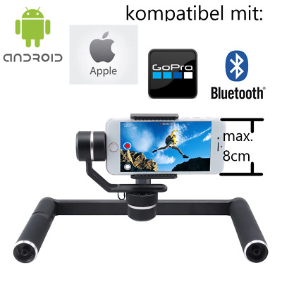 FeiyuTech SPG G6 Plus 3-Axis Dual Handle Gimbal Osmo Apple Android Gopro