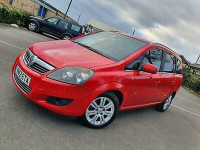 2012 Vauxhall Zafira Design 1.6i VVT - 7 SEATER - LOW MILEAGE