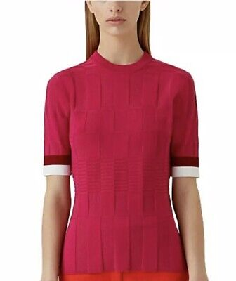 Camilla And Marc. Womens Short Sleeve Top. Pink Size Small / Size 8-10 Workwear.