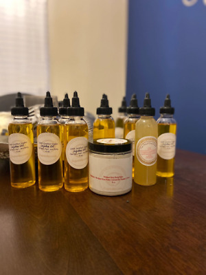 Pure Individual Cold Pressed Oils Jojoba, Vitamin E, Almond, Grapeseed, Coconut