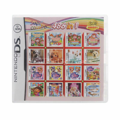 486 in1 for DS 2DS 3DS XL Super Combo Mario card video game cartridge AU