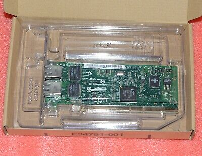 Intel Pro/1000 MT Gigabit Dual Port Server Adapter PWLA 8492MT, Network Card