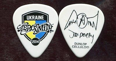 AEROSMITH 2014 Tour Guitar Pick!!! JOE PERRY custom concert stage UKRAINE