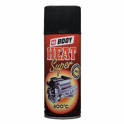 BODY 420 400ml Color Spray Thermo Paint Black Color