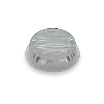 GROTE Polycarbonate Replacement Lens ,Round,Clear, 90221