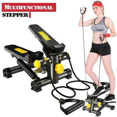 2020 Air Stepper Climber Exercise Fitness Thigh Machine W/CD Resistant Cord
