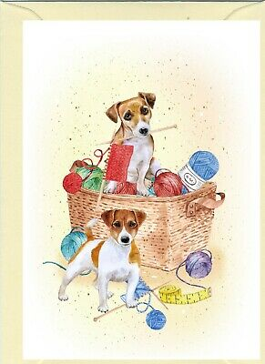 "Jack Russell Terrier Dog (4""x 6"") Blank Card ideal for any occasion by Starprint"