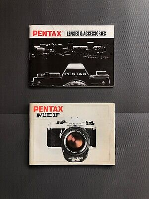 PENTAX ME-F INSTRUCTION User Operating MANUAL Guide Book