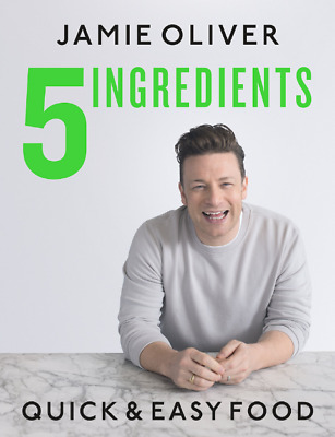 5 Ingredients Quick & Easy Food by Jamie Oliver [P.D.F] + [🔥 3 BONUS 🔥].