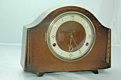 Antique/Vintage Perivale Westminster Chimes Mantle Clock.