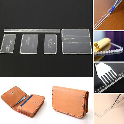 Handmade Template Kit Leather Acrylic Business Card Pattern Stencil 11*7.5cm