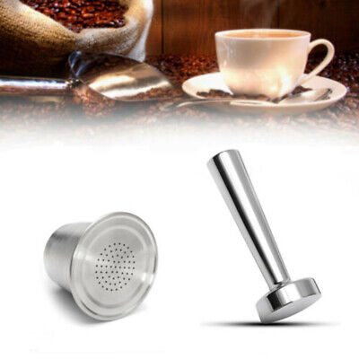 Refillable Reusable Coffee Filter Capsule Pods For Nespresso Maker Machine