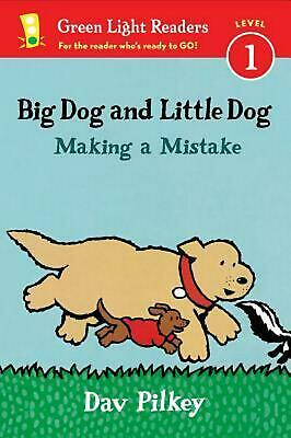 Big Dog and Little Dog Making a Mistake by Dav Pilkey (English) Paperback Book F