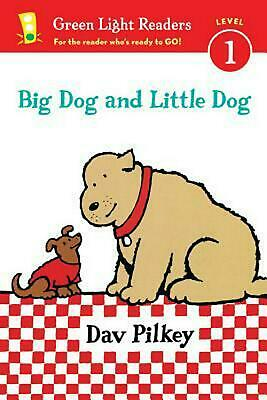 Big Dog and Little Dog: (GLR Level 1) by Dav Pilkey (English) Paperback Book Fre