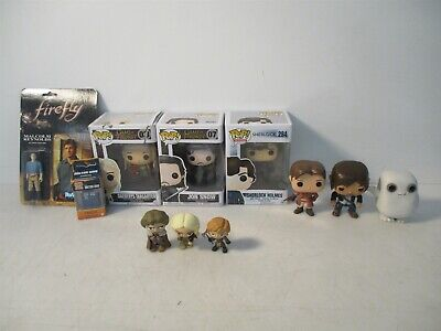 Funko Pop Figures Lot TV Game of Thrones Sherlock & Dr. Who + ReAction Firefly