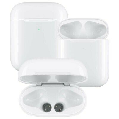 """Apple 2nd Gen Airpods Wireless Charging Case - *Case only"""" - works with 2nd & 1s"""