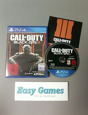 PS4 Call of Duty - Black ops III (PlayStation 4, 2015) COD BO 3