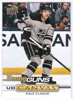 19/20 UD SERIES 2 HOCKEY YOUNG GUNS RC CANVAS CARDS (C211-C240) U-Pick From List
