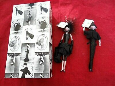 Pair Soffieria De Carlini Christmas Ornaments Neiman Marcus Made In Italy